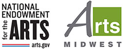 National Endowment for the Arts and Arts Midwest logos