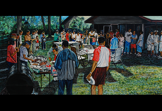 Family Reunion II by Clifford Darrett