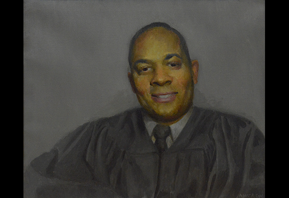 Judge Russel Carter by Abner Cope