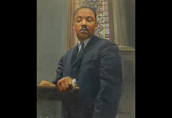 Civil Rights Sermon In An Ante Bellum Church by Abner Cope