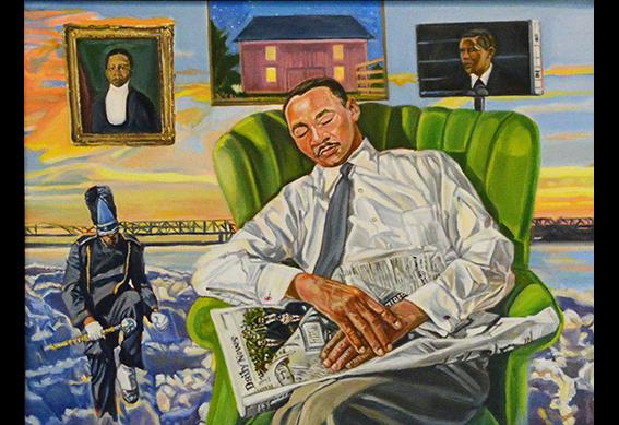 He Has His Dream by Morris Howard