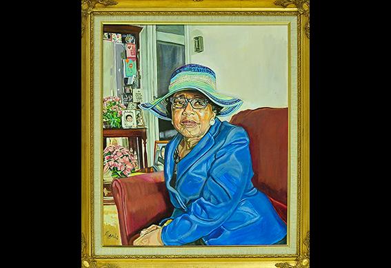 Mrs. Tucker (Mary Lou Tucker) by Morris Howard